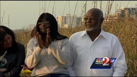 Locals celebrate Easter at sunrise services