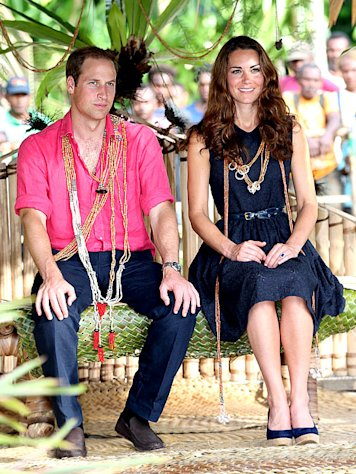 Kate Middleton, Prince William Have Second Honeymoon in South Pacific as