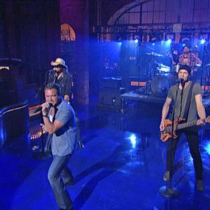 David Letterman - Eli Young Band: Dust