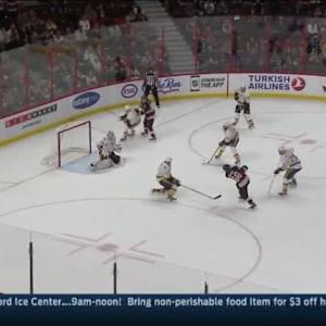 Carter Hutton Save on Mike Hoffman (10:42/2nd)