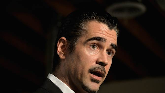 Actor Colin Farrell attends The Elizabeth Taylor AIDS Foundation Art Auction Benefit on February 27, 2014 in Los Angeles, California