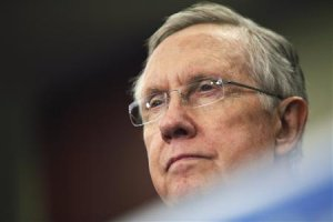 Reid leads a rally to celebrate Obamacare at the U.S. …