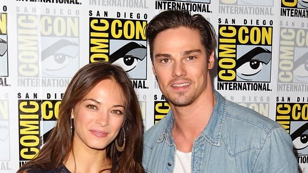 Kristin Kreuk and Jay Ryan arrive at the 'Beauty and the Beast' press line at Comic-Con 2012 in San Diego on July 12, 2012 -- Getty Images