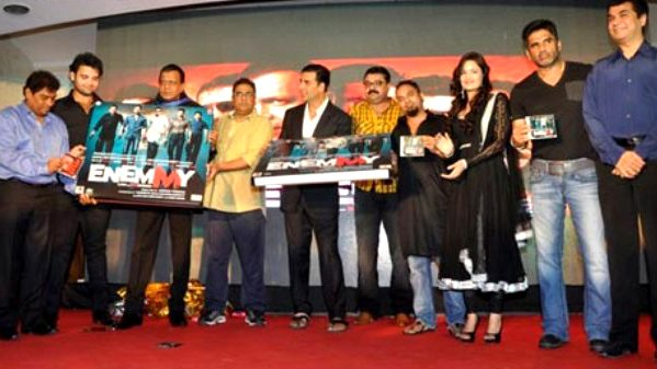 Akshay launches Enemmy's music