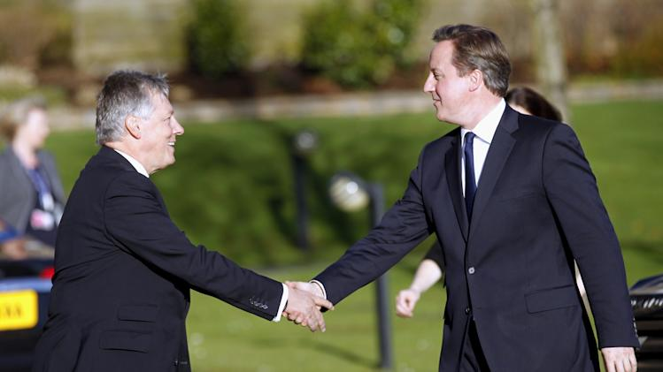UK's Cameron: Northern Ireland to host G-8 summit
