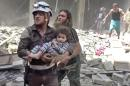 Casualties mount from bombardment in Syria's largest city