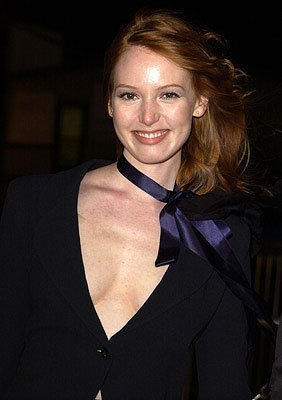 Alicia Witt at the Hollywood premiere of Vanilla Sky