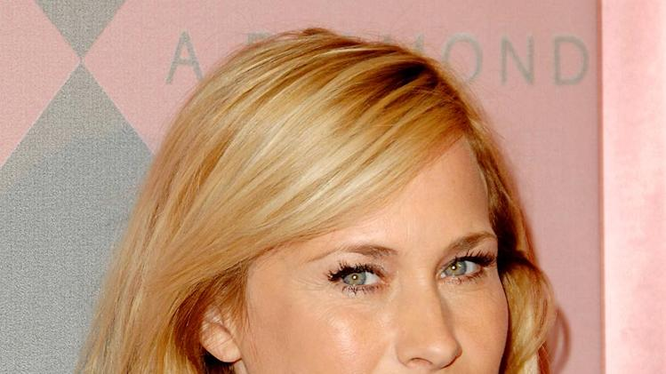 "Patricia Arquette arrives at ""The 7th Annual Awards Season Diamond Fashion Show"" at the Beverly Hills Hotel on January 10, 2008 in Beverly Hills, California."