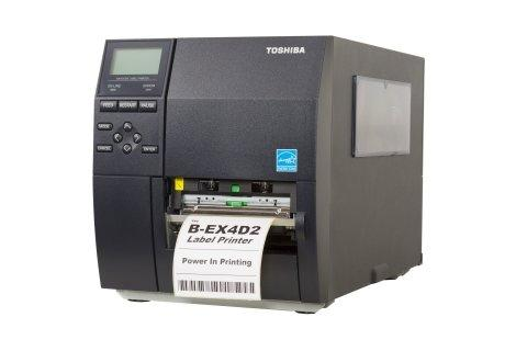Toshiba Unveils Industrial Direct Thermal B-EX4-D2 Auto ID Printer for Transportation/Logistics Services Requiring a Cost-Effective Solution