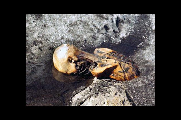 Oldest blood found in Oetzi, the Iceman