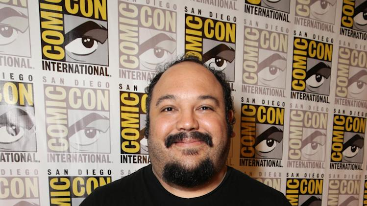 Director/Screenwriter Jorge R. Gutierrez seen at Twentieth Century Fox Panel at 2014 Comic-Con on Friday, July 25, 2014, in San Diego, Calif. (Photo by Eric Charbonneau/Invision for Twentieth Century Fox/AP Images)