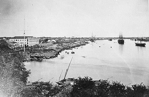 Cảng Sài Gòn (1866).
