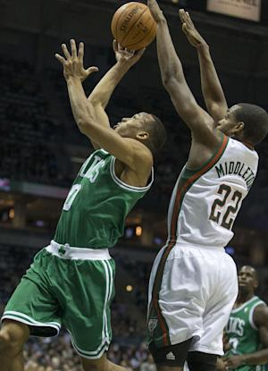 Bucks beat Celtics 92-85 to end 11-game skid
