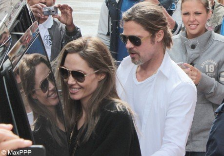 Brad Pitt et Angelina Jolie : en famille au Touquet !