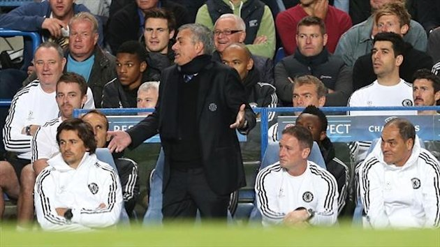 Jose Mourinho took the blame for Chelsea's defeat