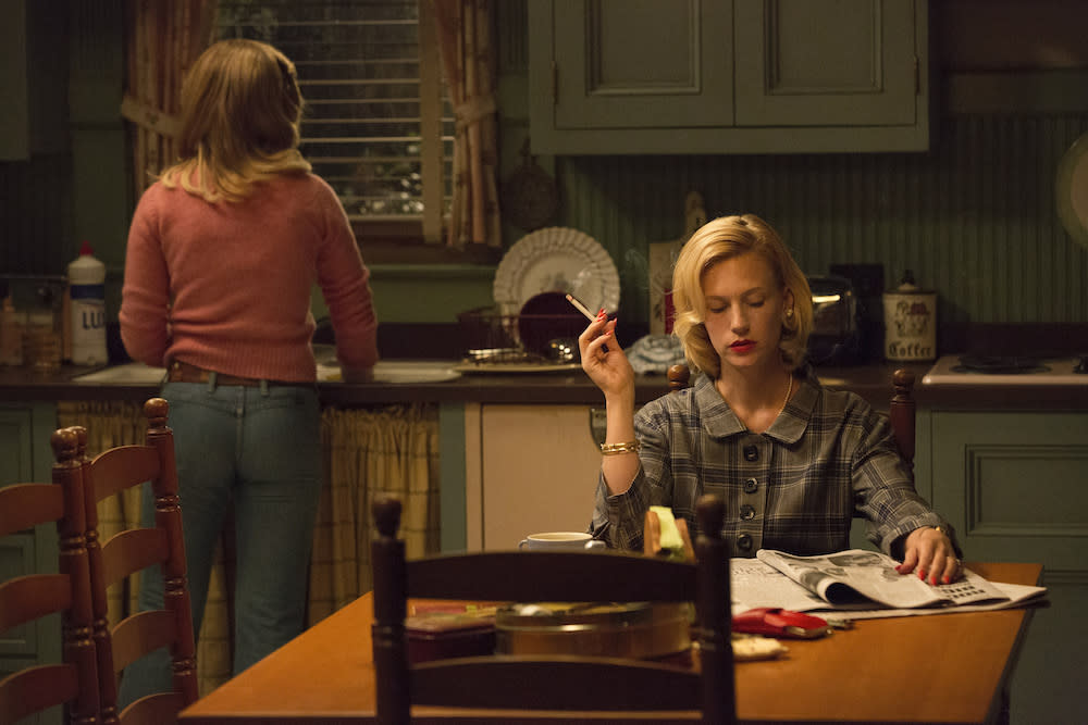 "'Mad Men's January Jones On Remembering Betty: It's ""Like A Friend Has Passed Away"""