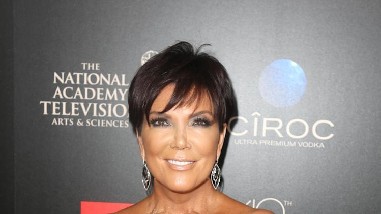 IMAGE DISTRIBUTED FOR EFG - Kris Jenner seen at The 40th Annual Daytime Emmys Awards Redtouch Red Carpet, on Sunday, June 16, 2013 in Beverly Hills, Calif. (Photo by Ryan Miller/Invision for EFG/AP Images)