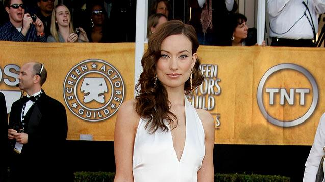 Olivia Wilde arrives at the 15th Annual Screen Actors Guild Awards held at the Shrine Auditorium on January 25, 2009 in Los Angeles, California.