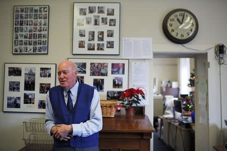 New Hampshire Secretary of State Bill Gardner answers a question in his office at the State House in Concord
