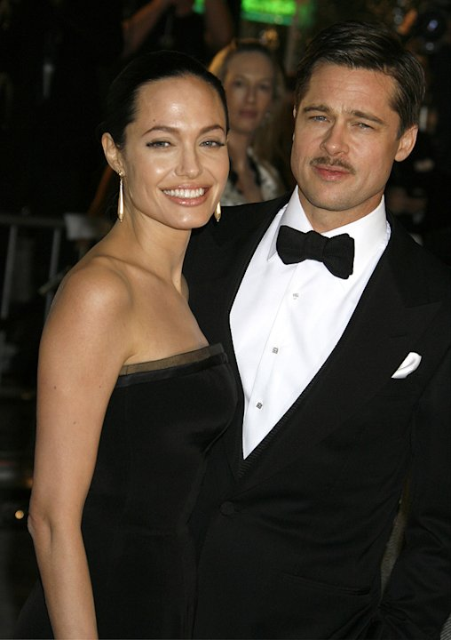 The Curious Case of Benjamin Button Premiere LA 2008 Angelina Jolie Brad Pitt
