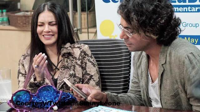 Sunny Leone with Sunil Grover at IPL | Shares her experience