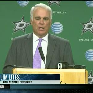 Stars President Jim Lites on Rich Peverley