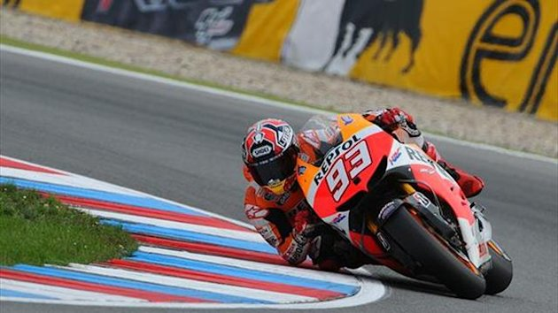 MotoGP Brno: Marquez takes fifth win as Crutchlow crashes