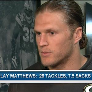 Green Bay Packers linebacker Clay Matthews on defensive end Julius Peppers: 'We welcome him with open arms'