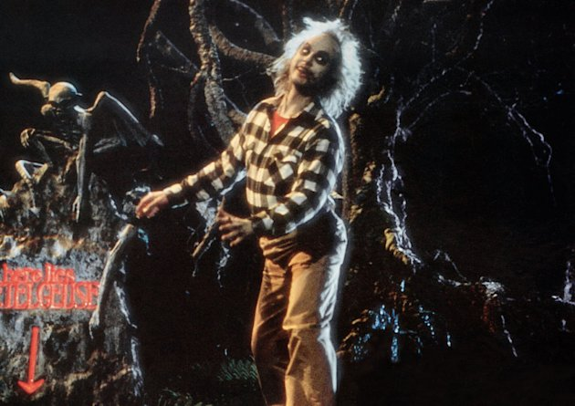 "Michael Keaton in ""Beetlejuice"""
