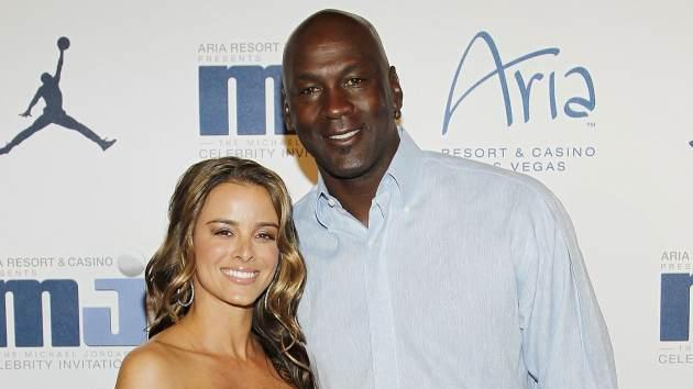 Yvette Prieto and Michael Jordan, March 2012 -- Getty Premium
