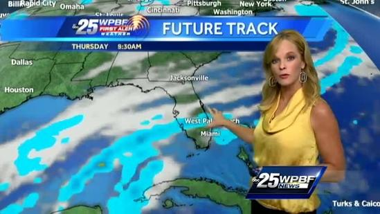 First Alert Forecast: Temps on upswing until tonight