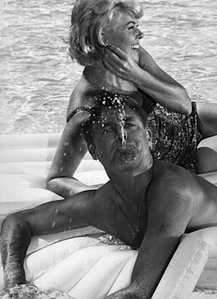 Vintage Cary Grant and Doris Day
