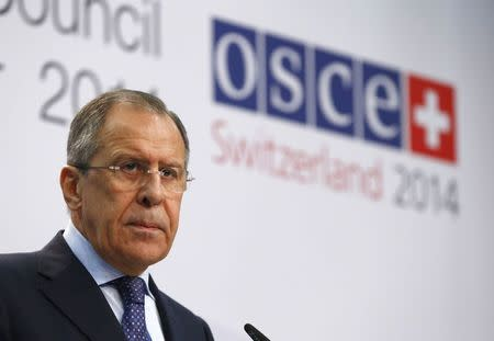 Russia's Lavrov criticizes Ukraine statement on neutral status