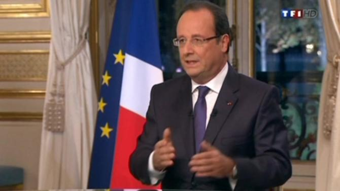 Hollande says military option in Syria must remain on table