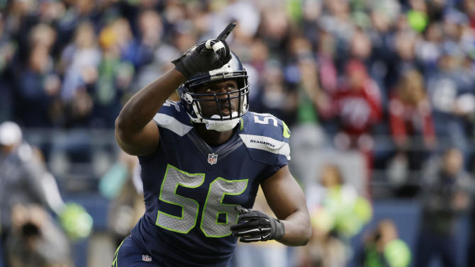 Seahawks lock up Cliff Avril with 4-year extension