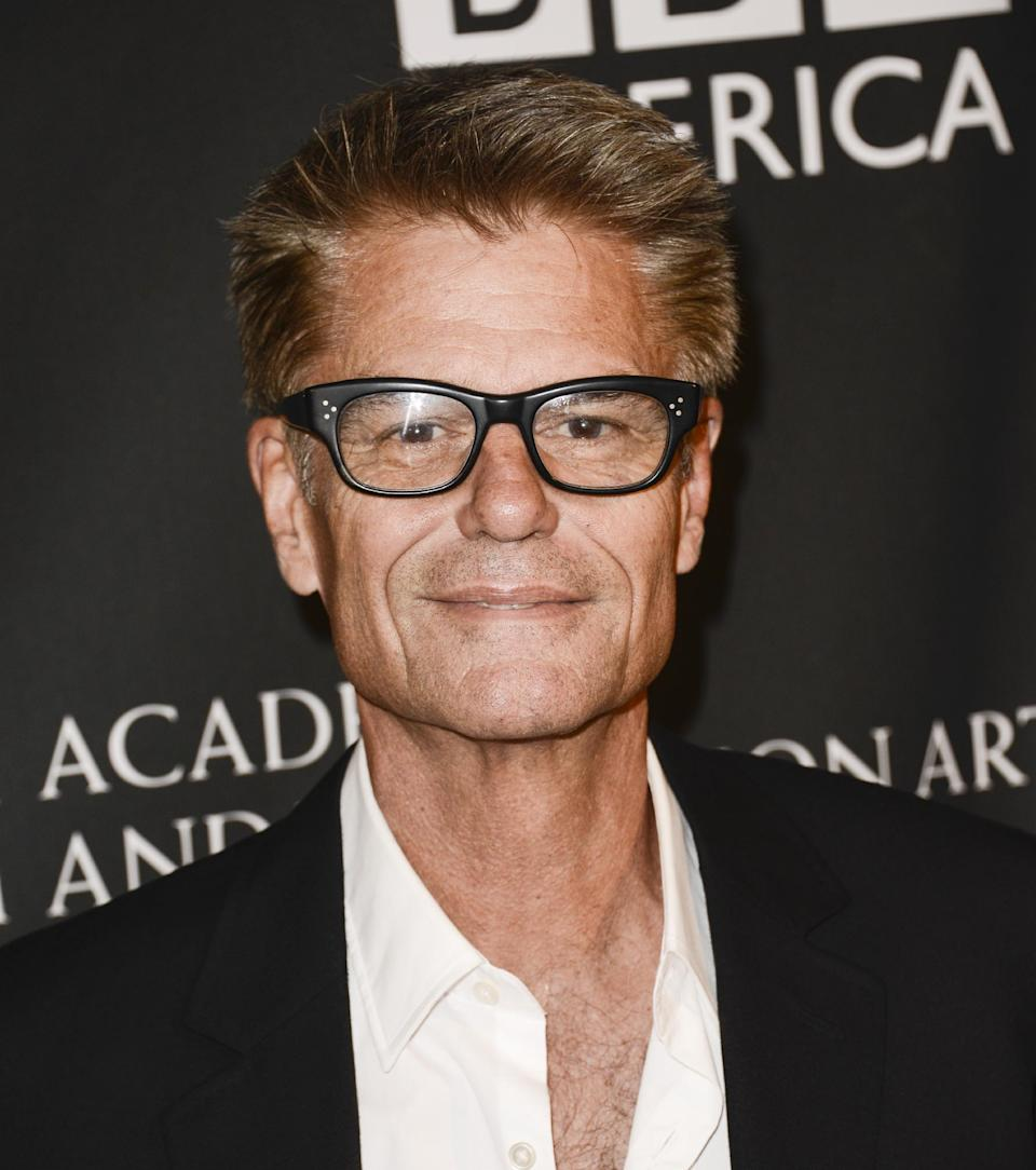Actor and Emmy nominee Harry Hamlin arrives at the BAFTA's Los Angeles TV Tea party at the SLS Hotel on Saturday, Sept. 21, 2013 in Los Angeles. (Photo by Dan Steinberg/Invision/AP)
