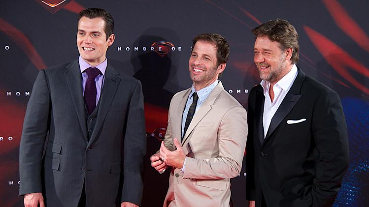 'Man of Steel' Madrid Premiere