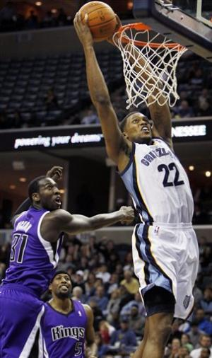 Gay, Young lead Grizzlies past Kings, 113-96