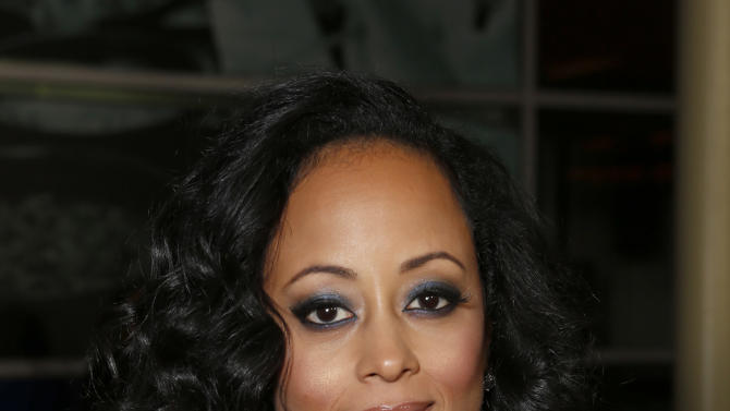 "Essence Atkins attends the premiere of ""A Haunted House"" at the Arclight Hollywood on Thursday, Jan. 3, 2013, in Los Angeles. (Photo by Todd Williamson/Invision/AP)"