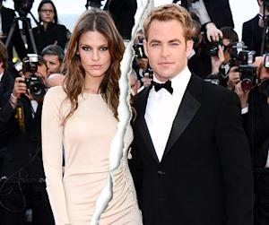Chris Pine Splits With Dominique Piek