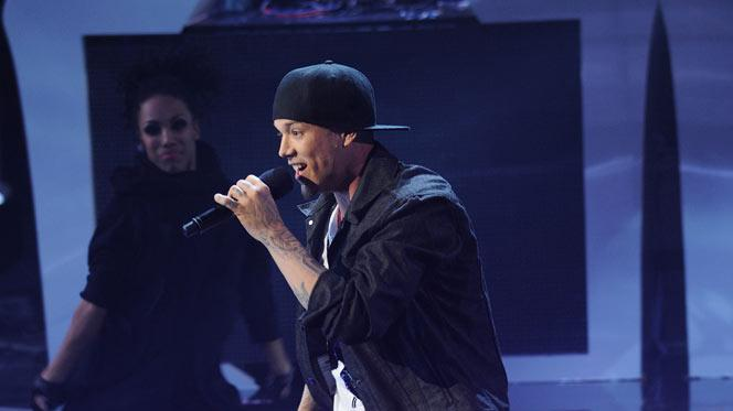 "Chris Rene performs ""Live Your Life"" by T.I. on ""The X Factor."""