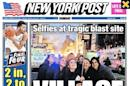 Smiling selfies at Manhattan blast site anger some
