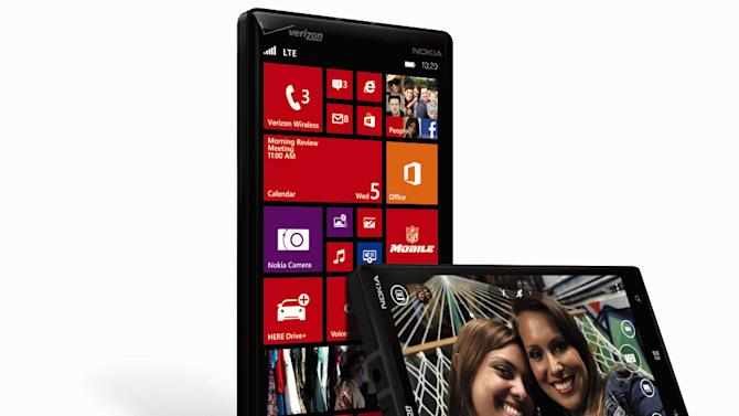 Nokia touts video recording in new Lumia phone