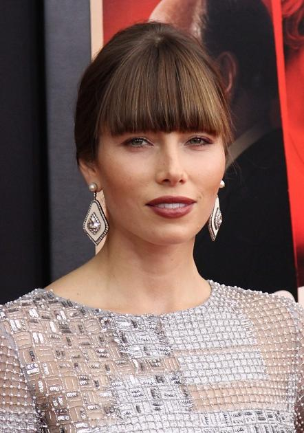 Jessica Biel attends the 'Hitchcock' premiere at the Ziegfeld Theater on November 18, 2012 in New York City -- FilmMagic