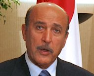 Egypt&#39;s former vice president Omar Suleiman, seen here in 2007, has died in the United States, according to the official MENA news agency. Suleiman was a long-time spy chief to deposed president Hosni Mubarak