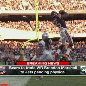 Brian Baldinger: New York Jets are a better team with wide receiver Brandon Marshall