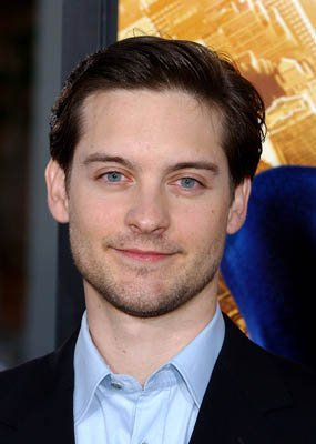 Tobey Maguire , the erstwhile Peter Parker, at the LA premiere of Columbia Pictures' Spider-Man
