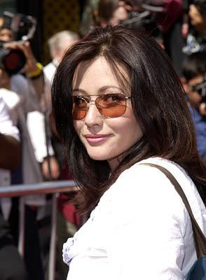 Premiere: Shannen Doherty at the LA premiere of 20th Century Fox's Star Wars: Episode II - Attack of the Clones - 5/12/2002