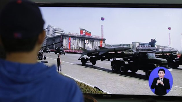 South Korea: North Korea Fires 3 Short-Range Guided Missiles (ABC News)