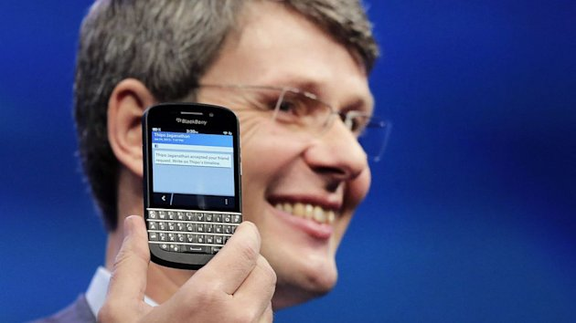 BlackBerry (BBRY) Gets $4.7B Buyout Offer (ABC News)